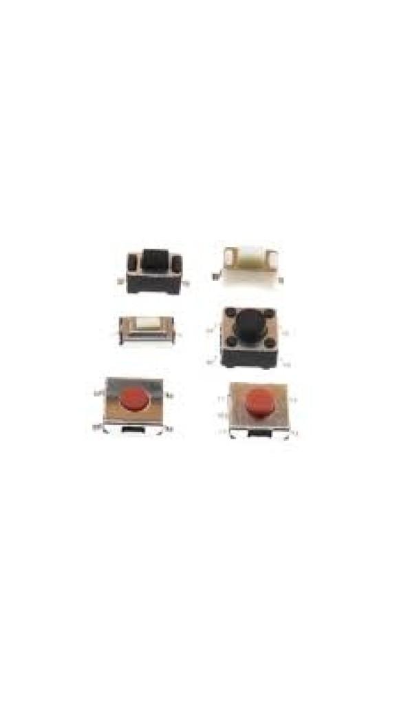 CH TACTIL P/ SMD 6X6X3.1 MM (4T)180ºG